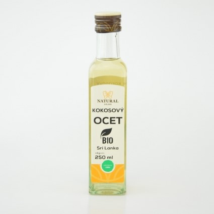 Kokosový ocot BIO 250 ml Natural Jihlava