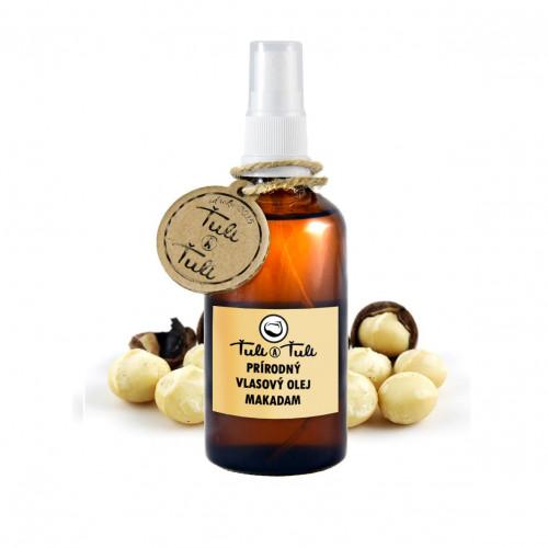 Prírodný vlasový olej Makadam 100 ml s rozprašovačom 9af4a87bfda