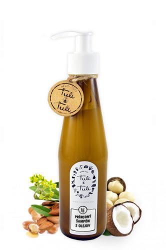 Prírodný šampón 5 olejov fe96facfe19